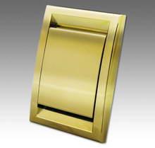 пневморозетка CYCLOVAC DECO золото